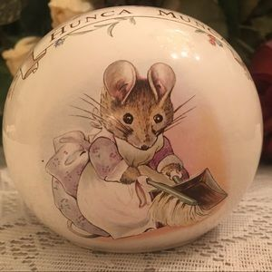 Royal Albert Beatrix Potter Ceramic Ball Bank